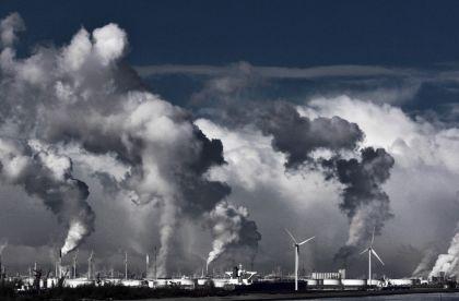 <strong>Nederland, Rotterdam, Maasvlakte</strong>