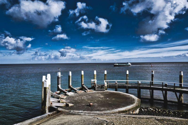 <strong>Nederland, Texel, Oudeschild.</strong>