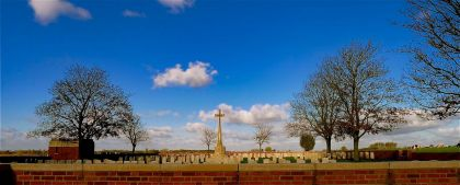 <strong>Belgie, Ieper</strong><br><p>Militaire begraafplaats, wereldoorlog 1914-1918.</p>