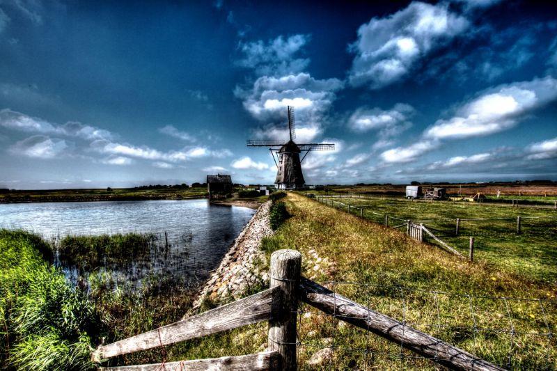 """<strong>Nederland, Texel, Oosterend.</strong><br><p>Molen """"Het Noorden""""</p>"""